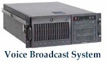 voice broadcast vendor system